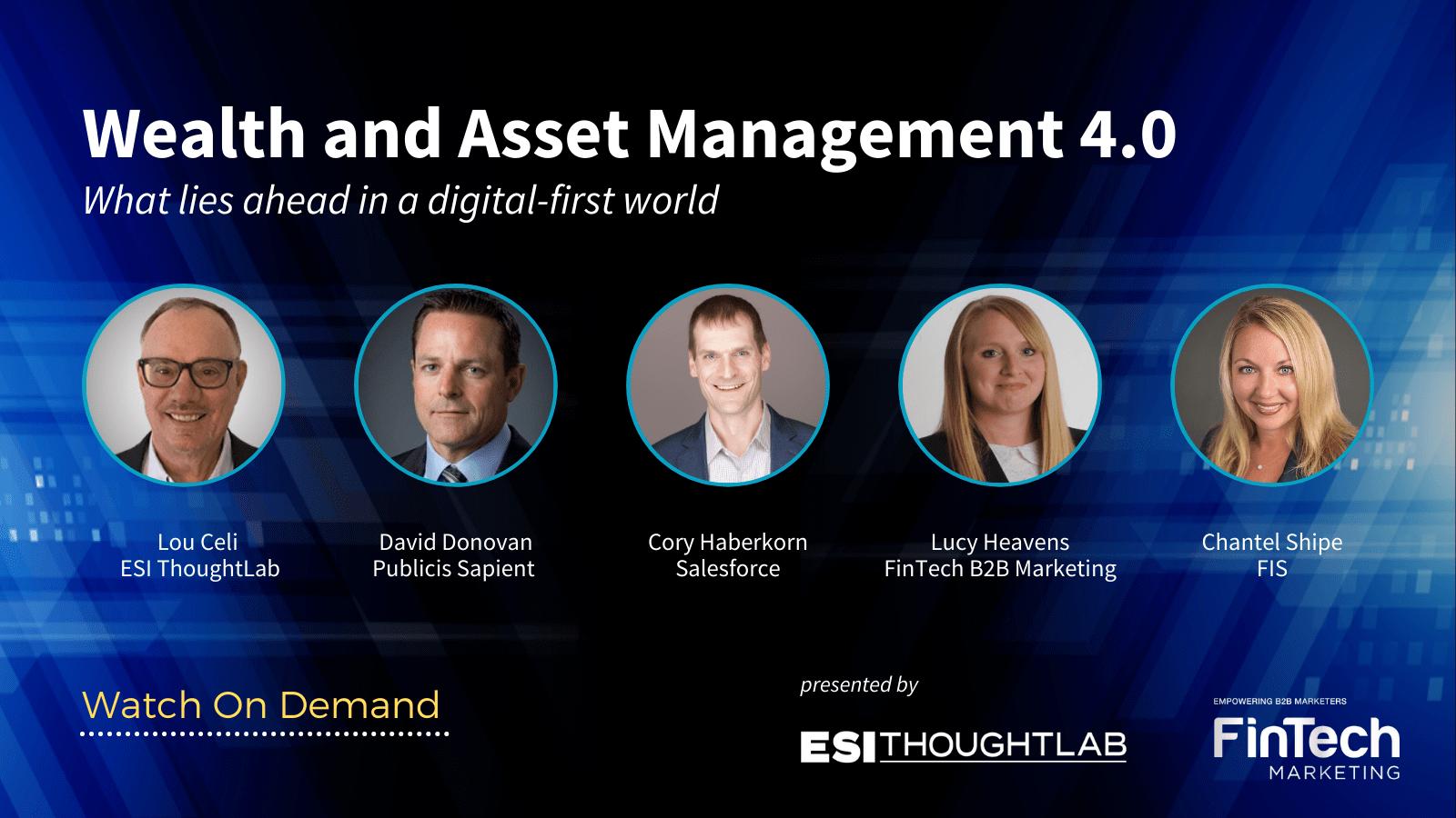Digital Trends Webinar_Wealth and Asset Management 4.0